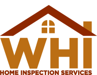 The WHI Home Inspection Services logo